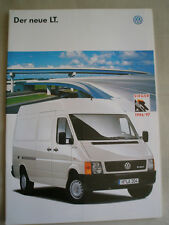 VW LT brochure Sep 1996 German text