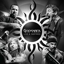 Godsmack-Live & inspired 2cd neuf emballage d'origine