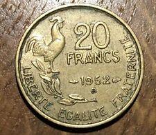 PIECE DE 20 FRANCS GUIRAUD 1052 B (111)