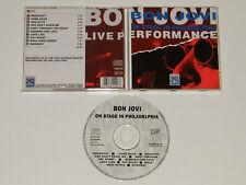 Bon Jovi  Live In In Philadelphia 1984 Very Rare Import CD