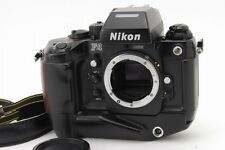 [Exc+++] Nikon F4S 35mm Camera Late model w/ MB-21 SN 25xxxxx From Japan #135
