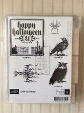 Stampin Up Dark & Dreary New! Halloween