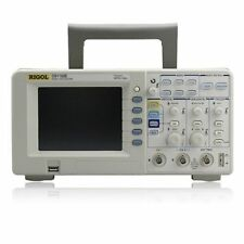 Rigol DS1102E Digital Oscilloscope Dual Analog Chan 1 GSa/s sampling USB Used