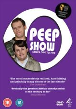 Peep Show Series 1 to 5 DVD NEW dvd (C4DVD10188)