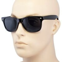 Sunglasses Vintage Retro Black Color New 80s Frame Optical N Two Tone