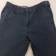 Tommy Hilfiger  Mens  Trousers Pants W31 L28 Blue Custom Fit Tapered Mid Rise