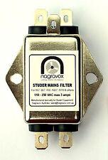 Studer mains filter module - new. Studer B67 A80 A807 A810