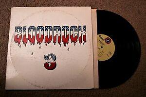 Blood Rock Progressive Rock 1st Original Record lp VG+