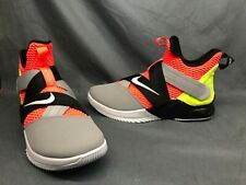 Nike Men's Lebron Soldier XII Basketball Sneakers Lava Size 9.5 DISPLAY MODEL!
