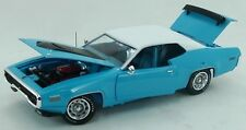 1971 Plymouth Roadrunner Petty Blue 1:18 Auto World 1012