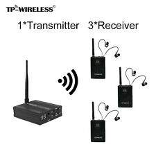 2.4GHz Digital Wireless Stage audio Monitor System(1 transmitter 3 receivers)