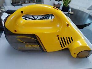 Eureka Model 58 Hand Held Car Yellow Vacuum Cleaner