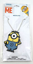 NEW Universal Studios Despicable Me Minion Made - Necklace Charm & Chain
