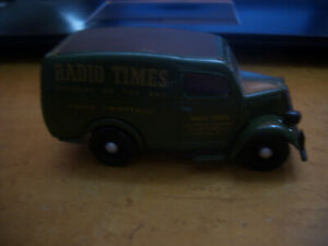 DINKY TOYS 1950 FORD E.83.W VAN RADIO TIMES  FROM  A LARGE COLLECTION PURCHASE