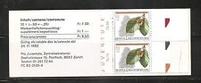 Switzerland SC # B581 Pro Juventute 1992 trees. Complete Booklet.