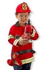 Melissa & Doug Fire Chief Role Play Costume Dress-Up Set (6 pcs)