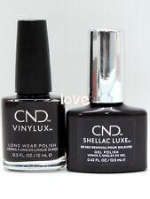 CND SHELLAC Gel Color Matching Polish 306Luxe & Vinylux- Phantom
