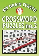 My Brain Teaser Crossword Puzzle No. 2 by Shannon Wright (2013, Book, Other)