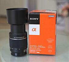 Sony DT55-200mm f/4-5.6 AF Zoom Lens A-Mount SAL55200-2