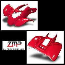 NEW HONDA TRX 400EX 99 - 04 FIGHTING RED FRONT AND REAR FENDER SET TRX400EX