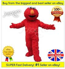 Elmo Maskottchen Kostüm - Sesame Street ✔ Komplette Erwachsene Outfit ✔ - UK