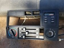 BMW E30 Dash Climate Control Panel RADIO HOUSING Bezel Trim 325i 325is 318IS obc