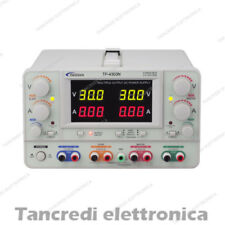Alimentatore da banco Twintex TP-4303N 4 uscite 30V 3A 15V 1A regolabile TP-4303