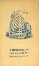 Louisville Ky Commenwealth Life Insurance Co. Sewing Needle Gift