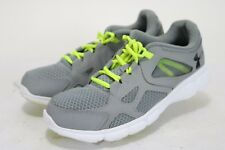 Under Armour Thrill $92 Men's Running Shoes Size EU45 US11 Grey/Green Synthetic