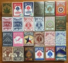 "72-DECK Bicycle ""Instant Collection"" of playing cards NEW & SEALED!"