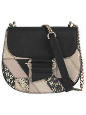 New Reiss Maltby Crossbody Leather Bag Multi Patch Chloe Drew Alike Sold Out