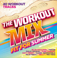 Various Artists : The Workout Mix: Fit for Summer CD 2 discs (2015) Great Value