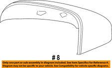 VOLVO OEM 14-16 S60 Door Side Rear View-Mirror Cover Cap Trim Right 39814113