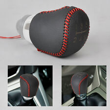 5-Speed Genuine Leather Gear Shift Knob Cover fit for Ford Focus MK II III 04-15