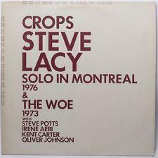 Steve Lacy – Crops & The Woe (free jazz, free improvisation)