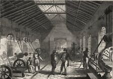 The Grand Junction Railway engine-work at Crewe. Fitting shop (2) Cheshire, 1849