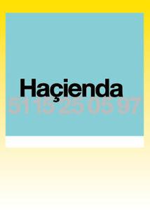 HACIENDA 15TH BIRTHDAY - TEAL COLOUR VERSION - RARE POSTER