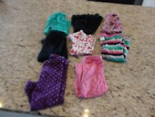 Carters Baby Toddler Girls Leggings Size 24 Months Lot of 8 GUC