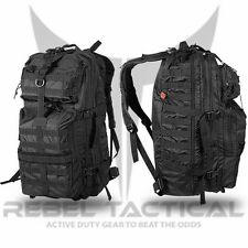 """Rebel Tactical 3 Day Assault Backpack 26"""" Military MOLLE Gun Hunting Airsoft Bag"""
