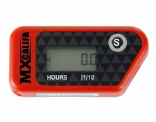 HOUR METER WIRELESS VIBRATION - CRF CR HONDA 450 250 - ENGINE HOURMETER RED