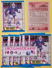 1989-90 OPC #263 RON TUGNUTT ROOKIE GOALIE QUEBEC NORDIQUES O-PEE-CHEE