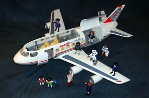 Playmobil Flugzeug Cargo Pacific Airline 4310 +