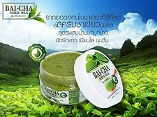 3X Natural Whitening Skin Dark Spots Brighten Bai-cha Scrub Milk by Dudeezone