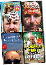 Karl Pilkington Know Your 4 Books Collection Pack Set-The Moaning of Life, The f