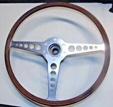 Jaguar XKE Series 1,1.5,  2 16 Inch Steering Wheel With Hub-Nice Shape- S3 #1