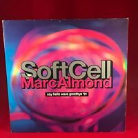 "SOFT CELL MARC ALMOND Say Hello Wave Goodbye 1991 uk 12"" vinyl single EXCELLENT"