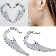 3D Ohrringe Flügel Wings Ohrstecker Ohrschmuck Earring Ear Cuff Ohrklemme