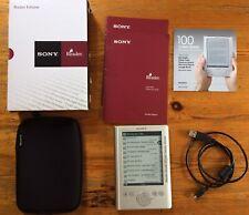 En Caja Sony PRS-300 lector de e-Reader Digital Book 443MB buena condición