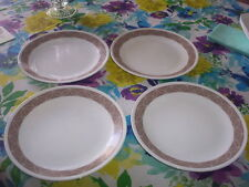 CORELLE SANDSKETCH PATTERN 8-1/2 INCH LUNCHEON PLATES
