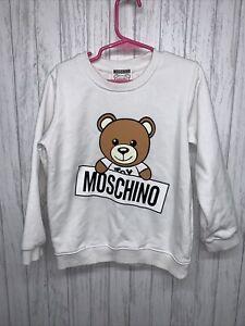Toddler Size 4/5/6 Moschino Teddy Bear Crew Neck Sweatshirt See Pics